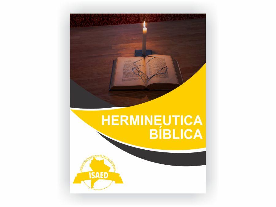 Curso de Hermenêutica Bíblica - Isaed